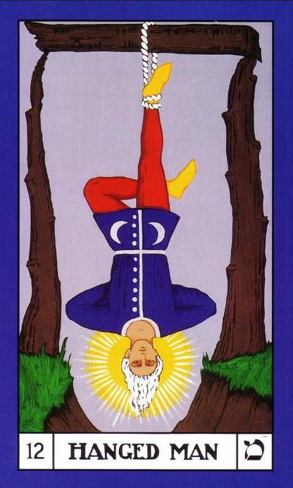 BOTA Tarot deck, The Hanged Man