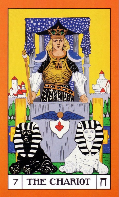 BOTA Tarot deck, The Chariot