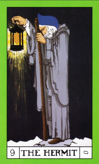 BOTA Tarot deck, The Hermit