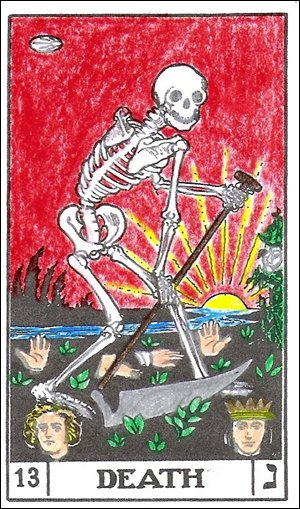 The Death Card, BOTA Deck