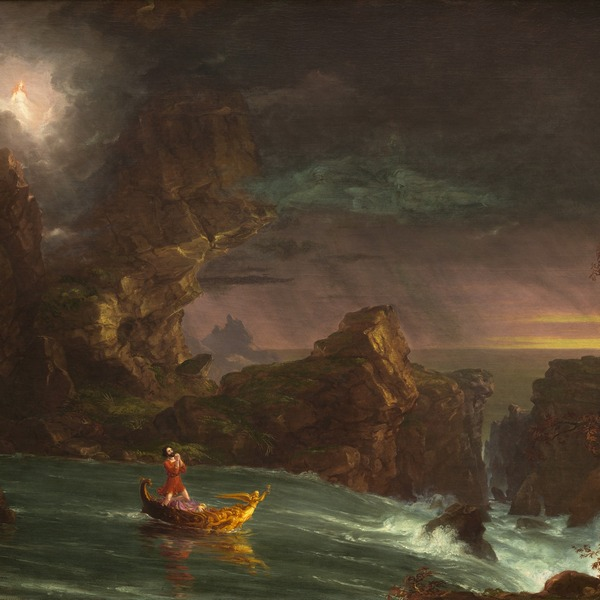 Thomas Cole, The Voyage of Life, Manhood