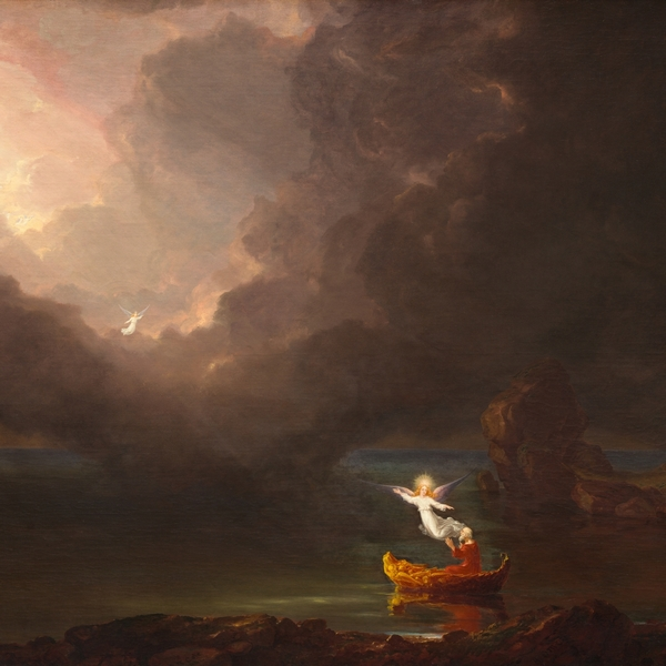 Thomas Cole, The Voyage of Life, Old Age