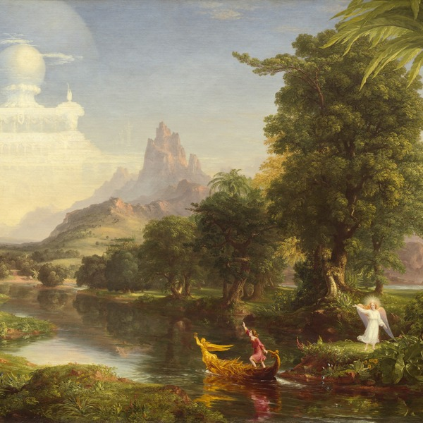 Thomas Cole, The Voyage of Life, Youth